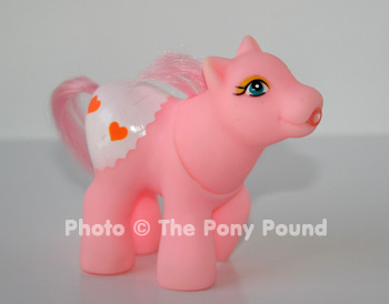 Drink 'n wet baby pony, pink #1