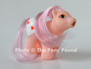 Drink 'n wet baby pony, pink #2